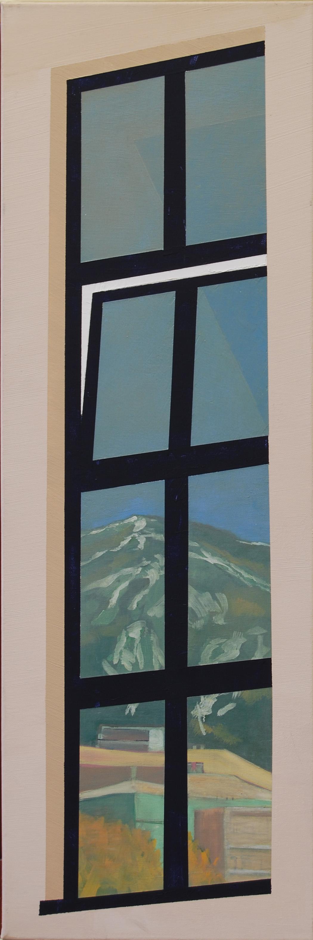 Kondor Attila: Individuáció (Ablakban tükröződő hegy I.)