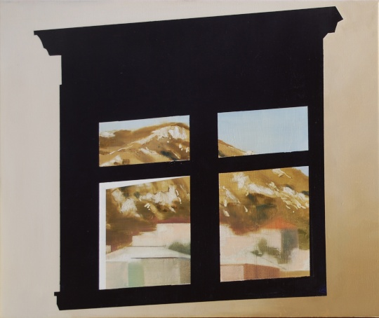 Kondor, Attila: Individuation (Window reflecting mountain II.)