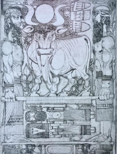 Kass, János: Bilder aus dem Alten Testament IV.