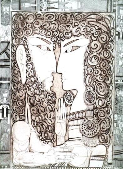 Kass, János: Bilder aus dem Alten Testament V