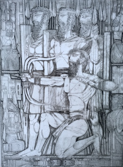 Kass, János: Bilder aus dem Alten Testament VII