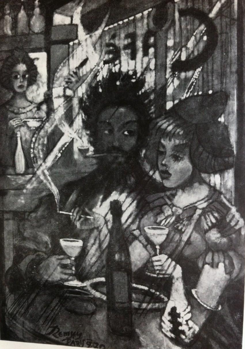 Remsey, Jenő György: Pariser Kaffeehaus