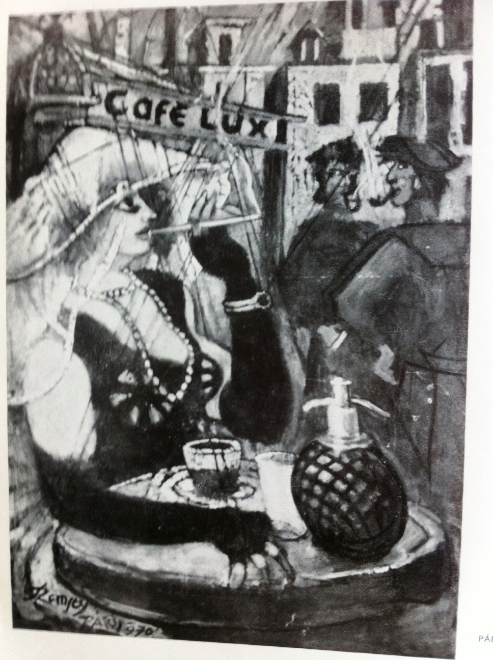 Remsey, Jenő György: Café Lux III
