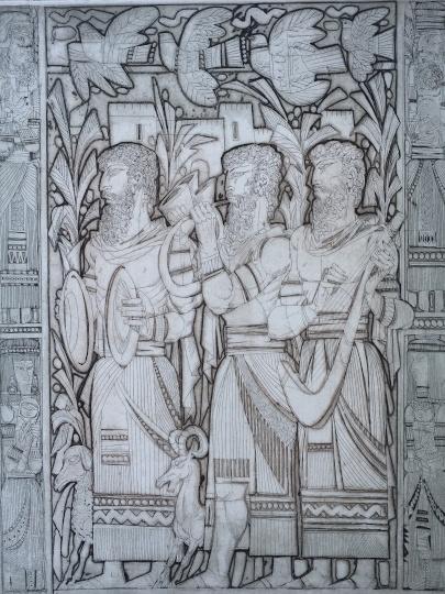 Kass, János: Bilder aus dem Alten Testament IX.