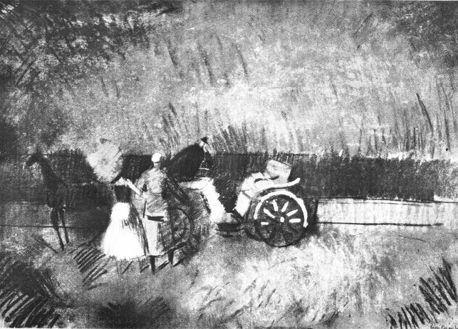 Csebi-Pogány, István: Wartende