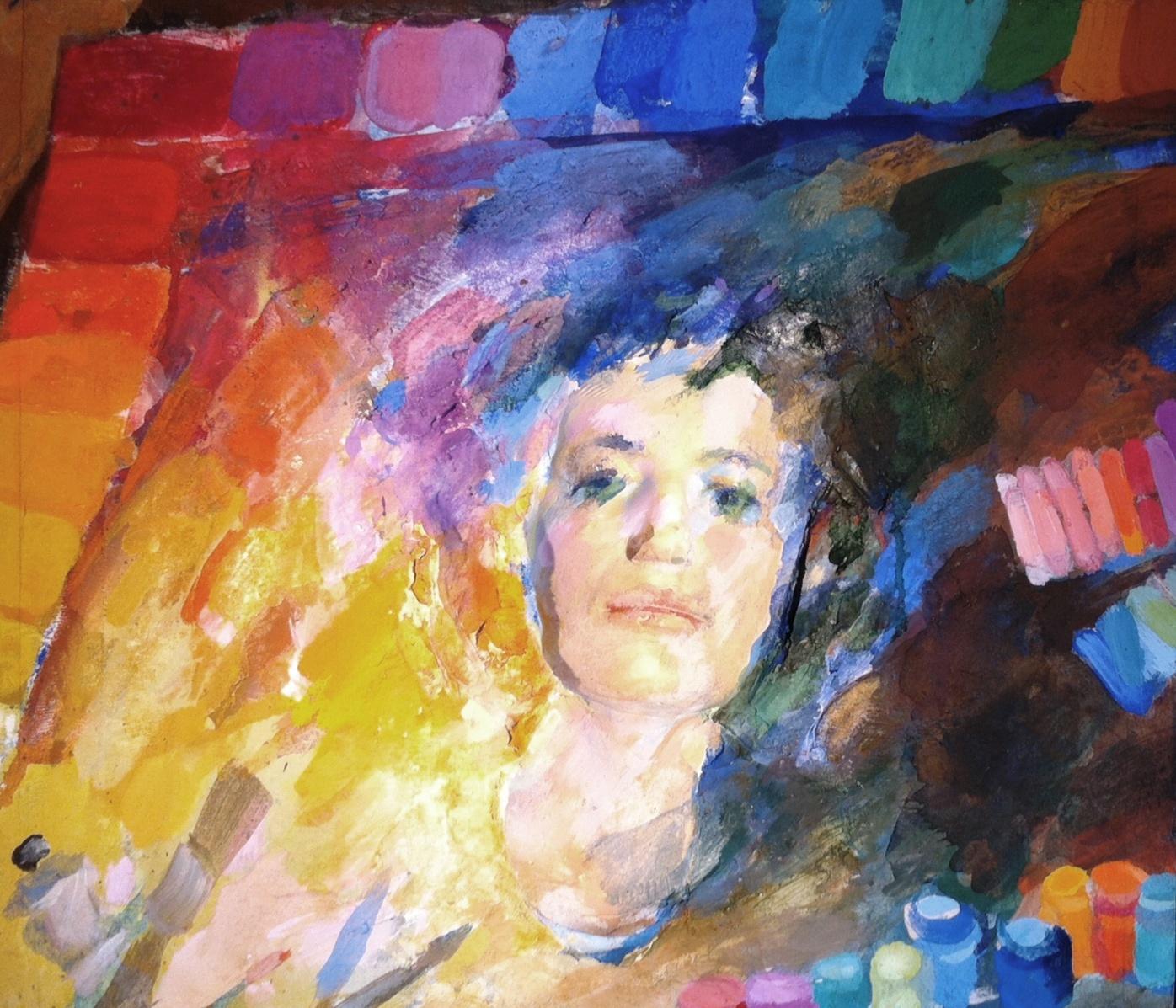 Szkok Iván: A paletta múzsája