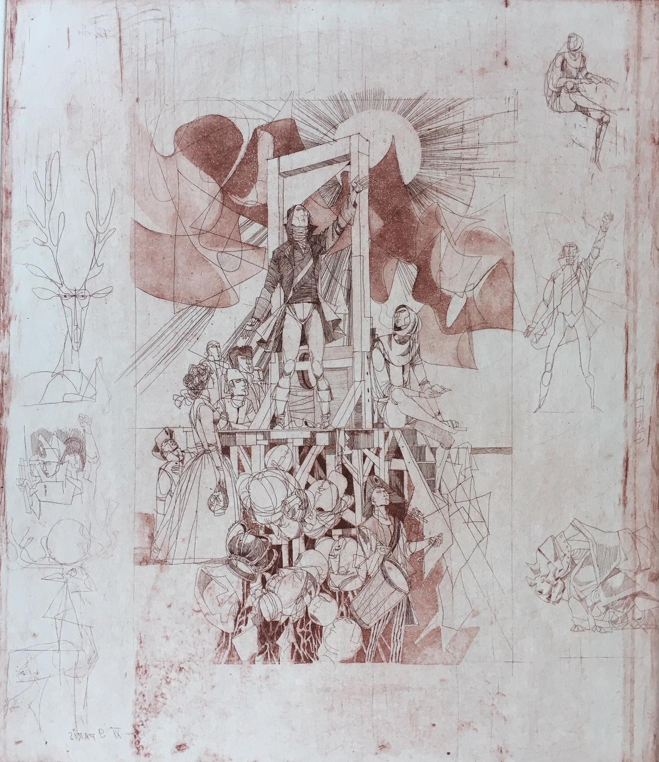 Kass, János: The Tragedy of Man IX.