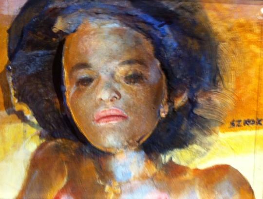 Szkok Iván: Etióp nő