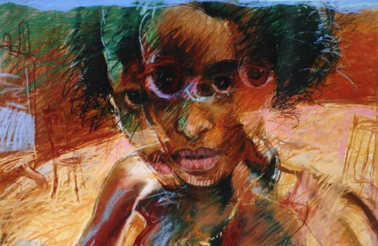 Szkok, Iván: Etiopische Lehrerin