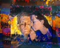 Szkok, Iván: Couple in the garden