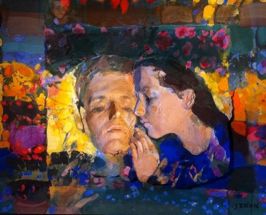 Szkok, Iván: Blumengärtner - Das Paar