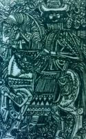 Kass, János: Háry János Briefmarken - Der Ritter