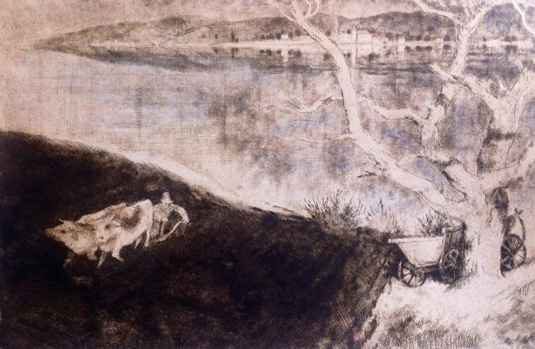 Szőnyi, István: Spring ploughing