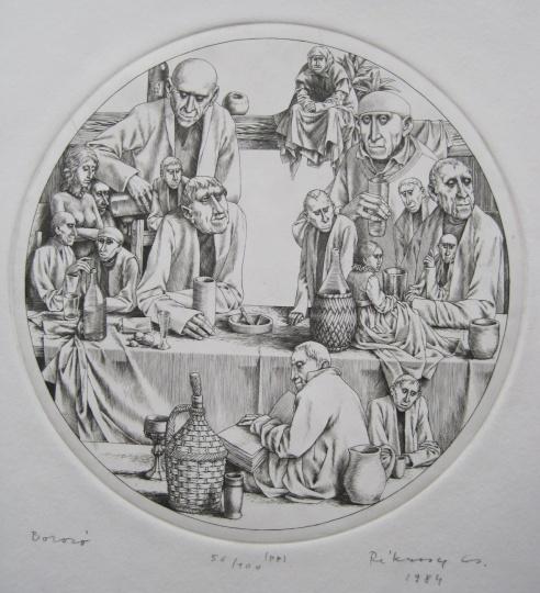 Rékassy, Csaba: Die Weinschenke