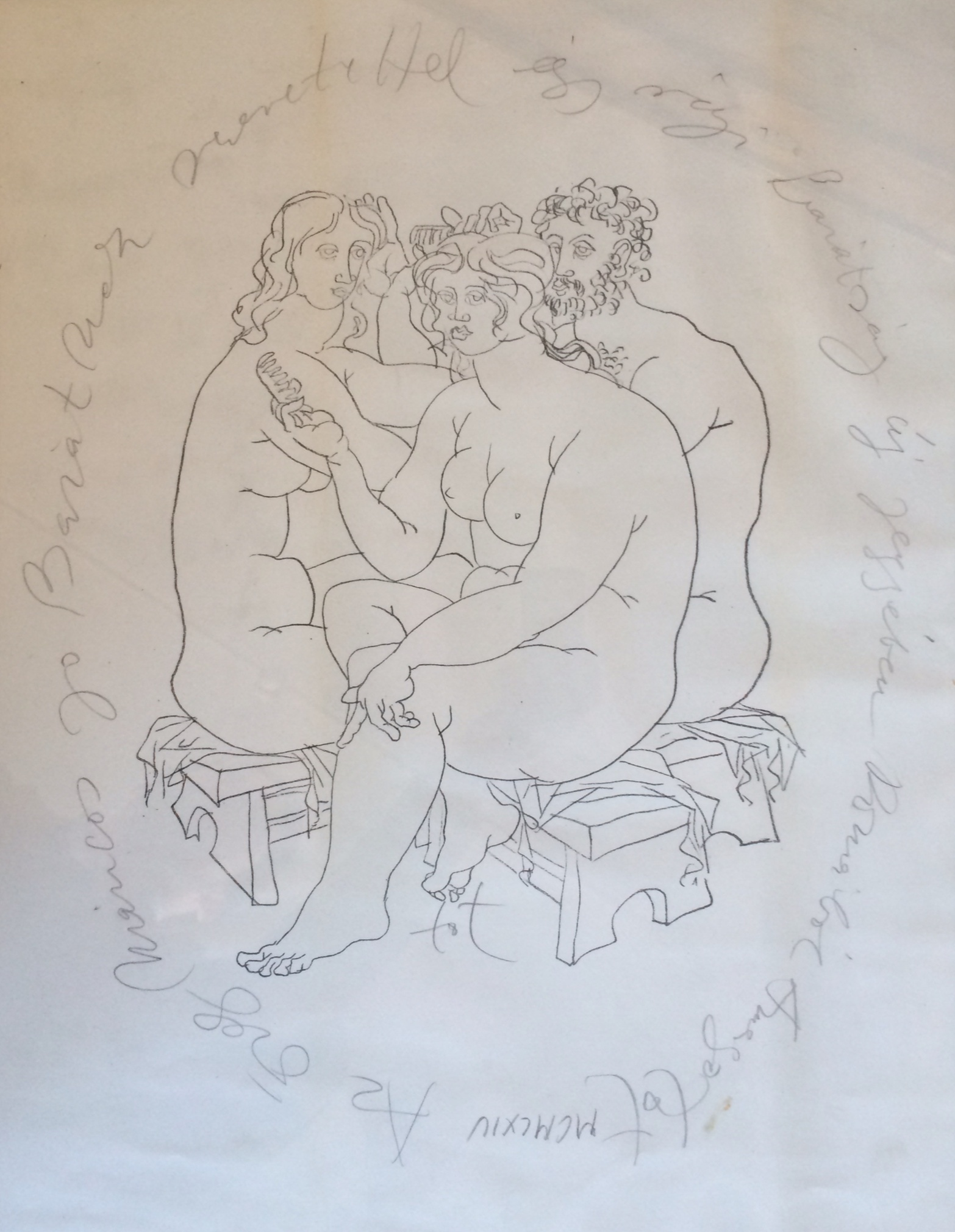 Amerigo Tot: Combing trio