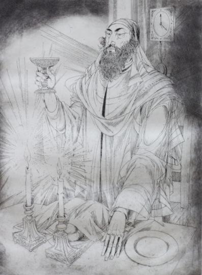 Kass, János: Jewish feasts: Shabbat