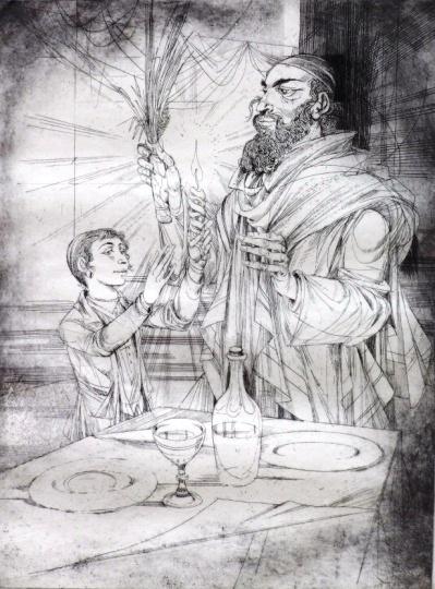 Kass, János: Jewish feasts: Havdalah