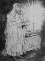 Kass, János: Jewish feasts: Tefillin