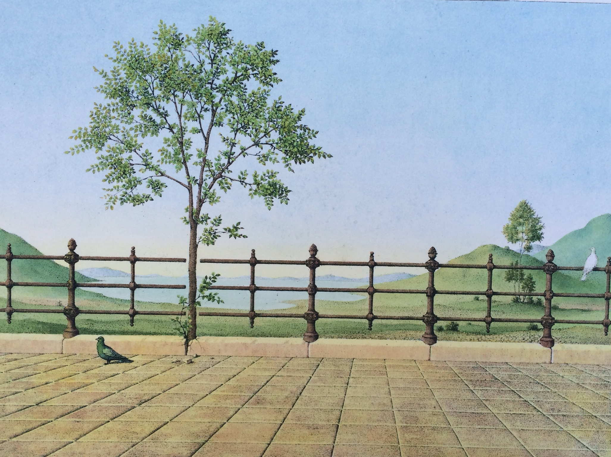 Artner, Margit: The railing