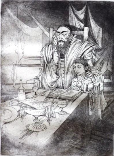 Kass, János: Jewish feasts: Pessah