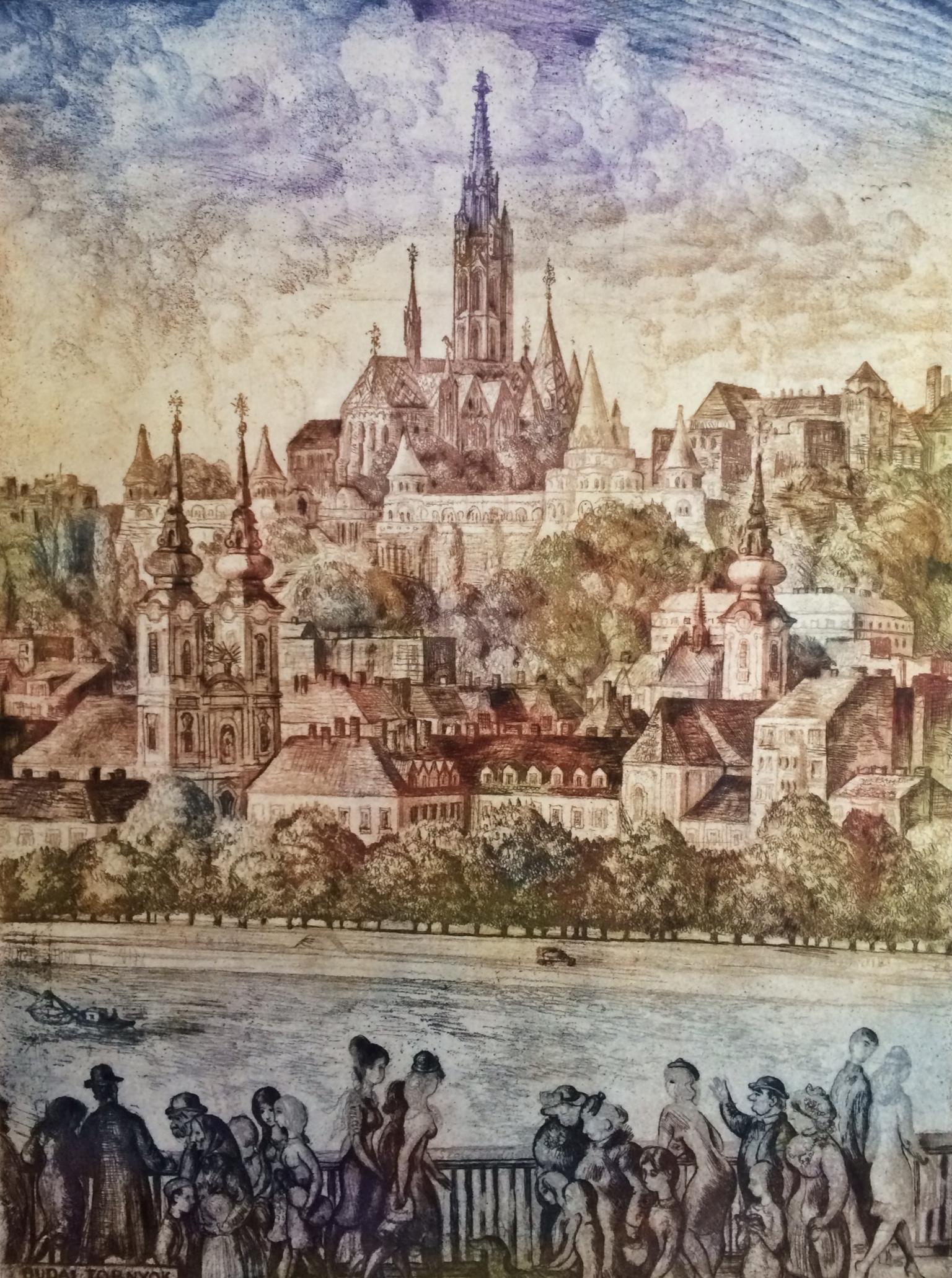 Szabó Vladimir: Budai tornyok