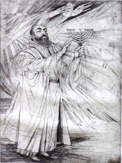 Kass, János: Jewish feasts: Hanukkah