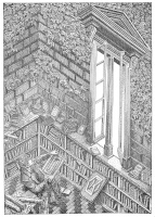 Orosz, István: Library II.