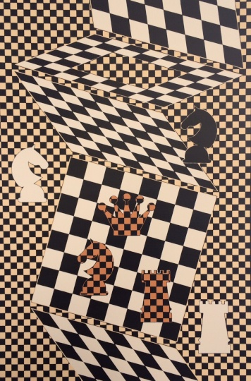 Vasarely, Victor: Chess