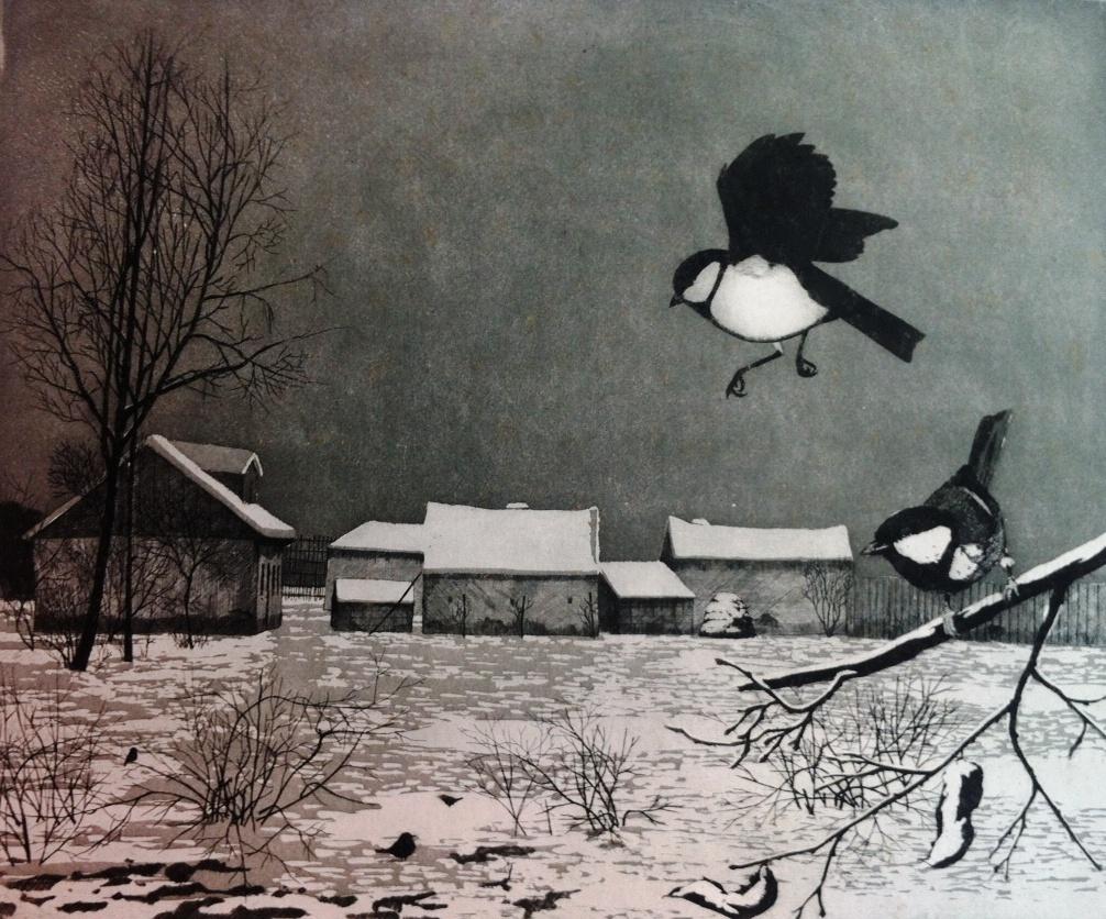 Szunyoghy, András: Winter landscape