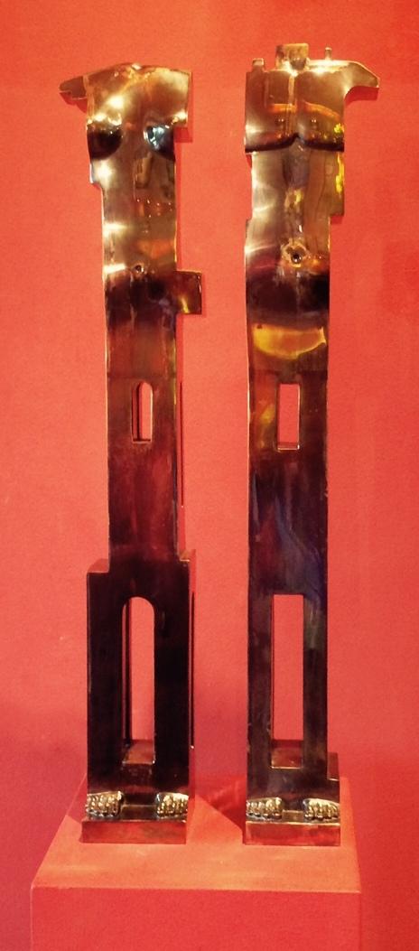 László Taubert: Silver idols (Venice)