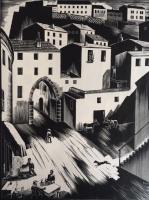 Gáborjáni, Szabó Kálmán: Gate in Perugia