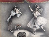 Gyulai Líviusz: Táncosnő hegedűvel