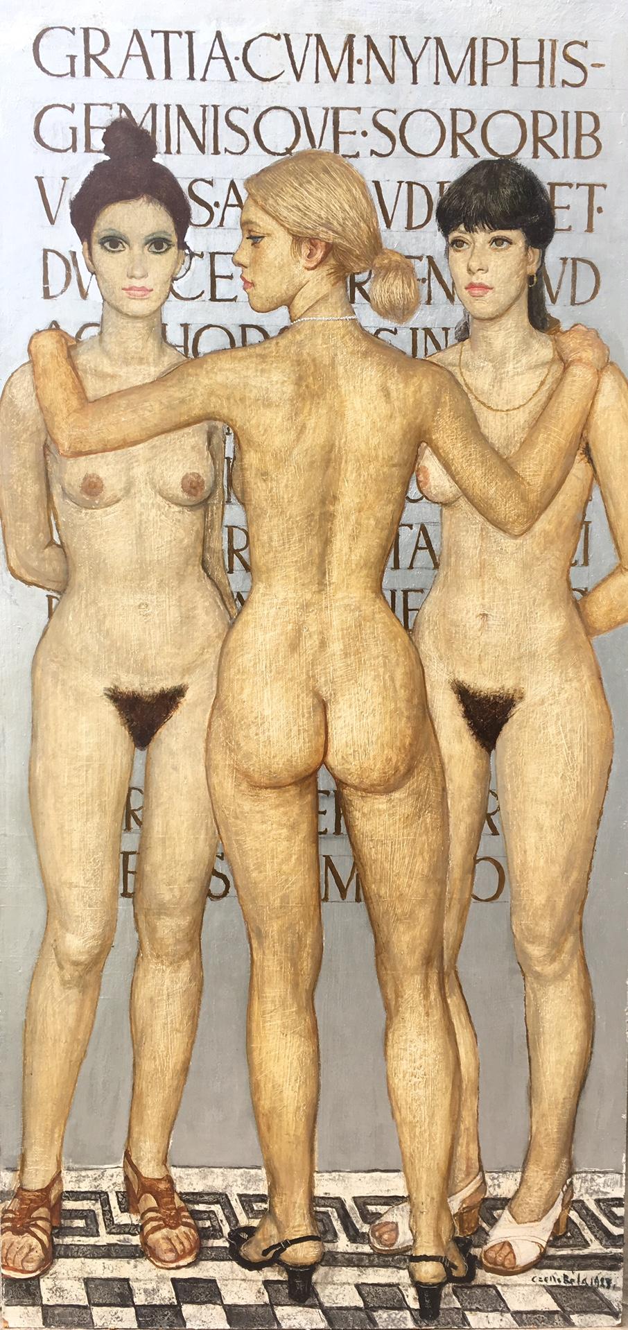 Czene Béla: Három grácia