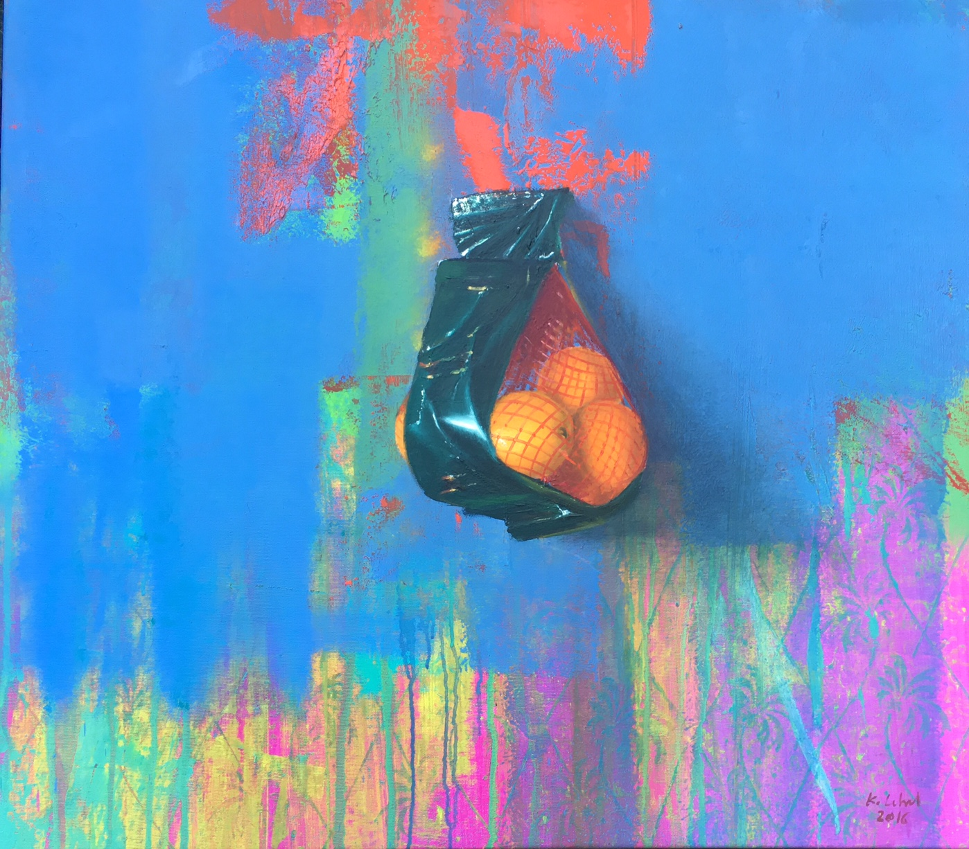 Kovács Lehel: Blaue Orangen