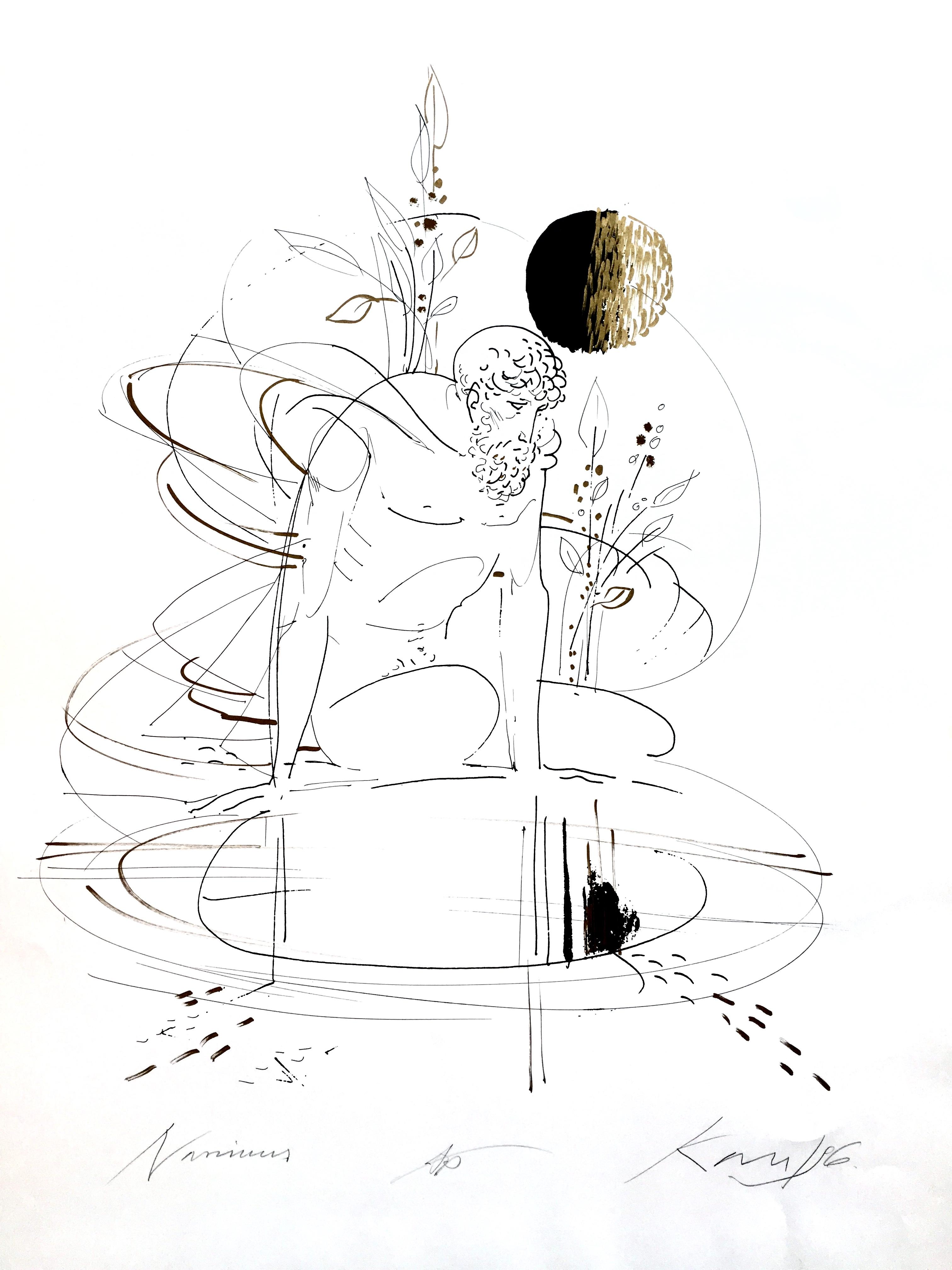 Kass János: Narcissus