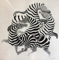 Vasarely, Victor: Zebras