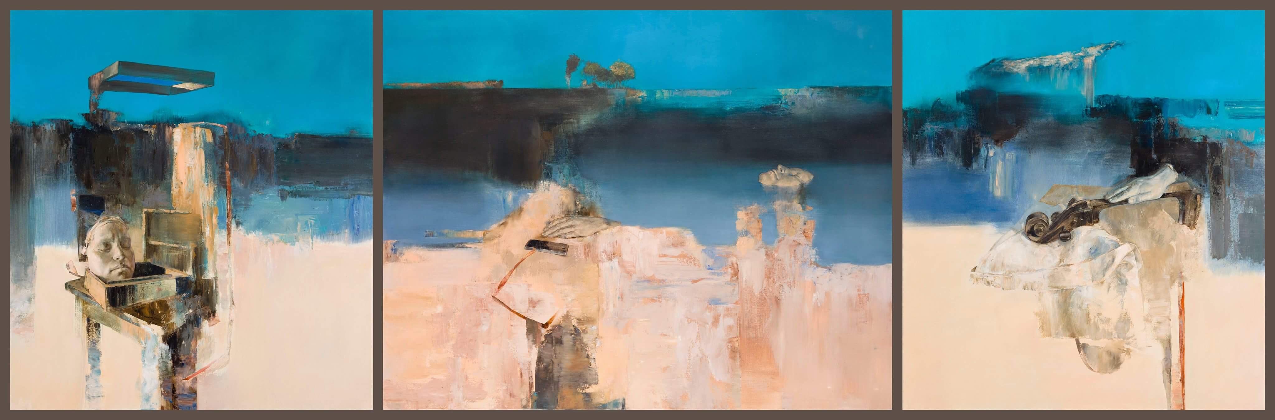 Incze, Mózes: Stille (Triptychon)