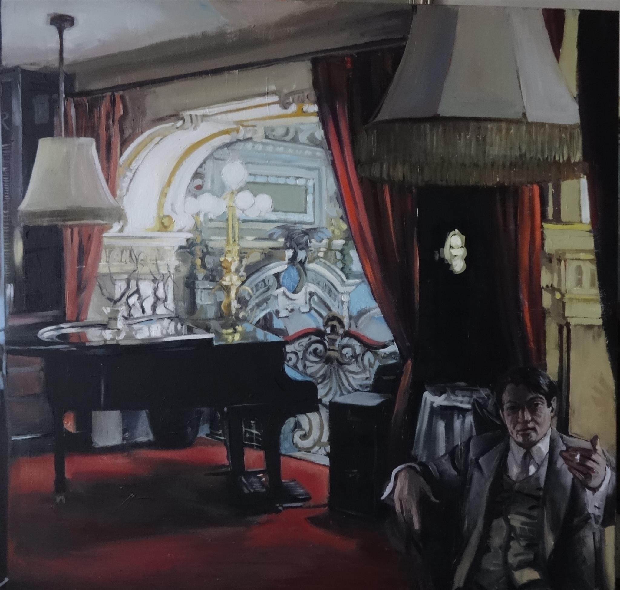 Takáts, Márton: Black piano (New York)