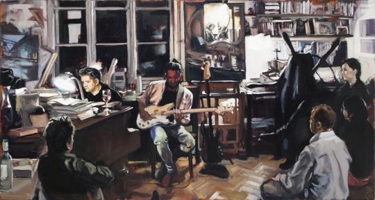 Takáts, Márton: Jazz a műteremben