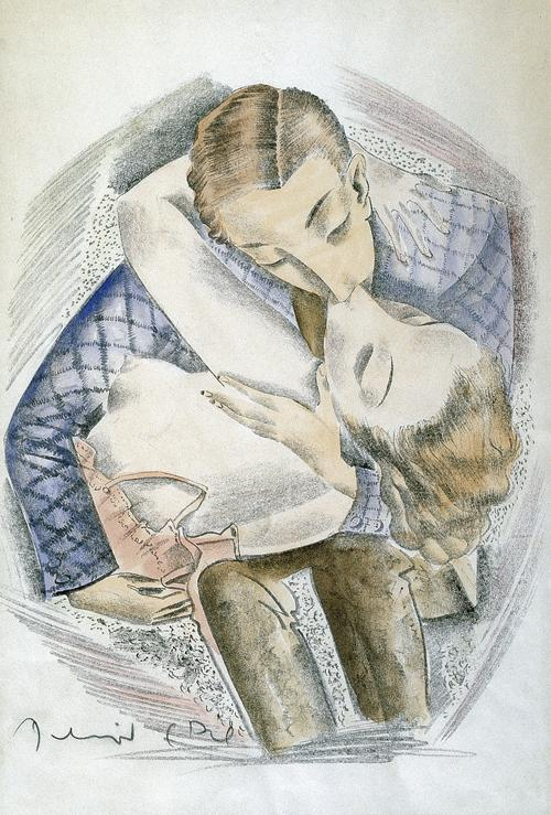 Molnár, C. Pál: Der Kuss