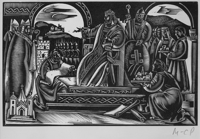 Molnár, C. Pál: Szent István egyházfiak között