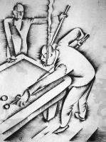 Molnár C. Pál: Biliárdjátékosok