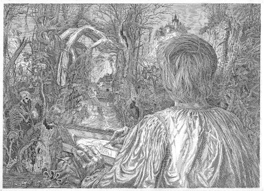 Orosz, István: Dürer in the forest