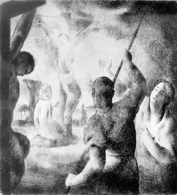 Patkó, Károly: Christ on the cross
