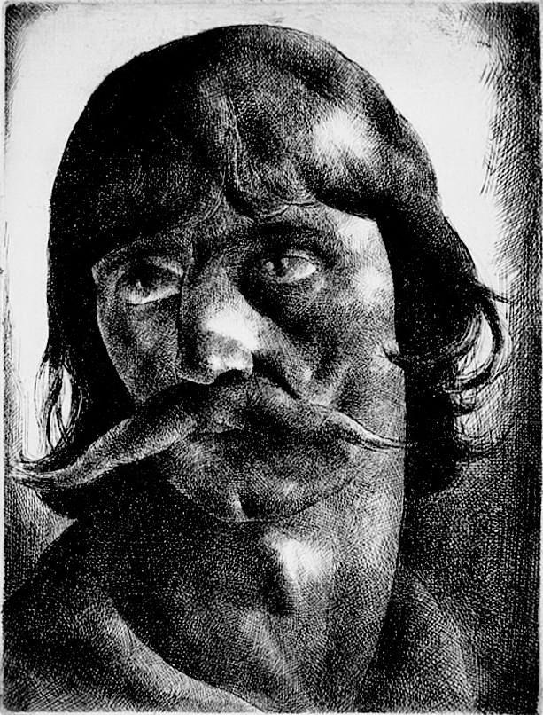 Patkó Károly: Kuruc fej