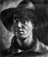 Patkó, Károly: Self-portrait