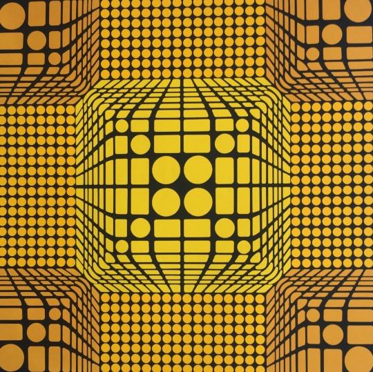 Victor Vasarely: Geometria