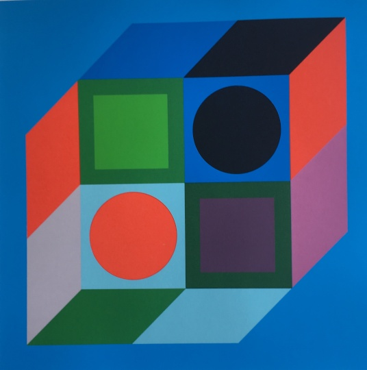 Victor Vasarely: Dimenziók 2.