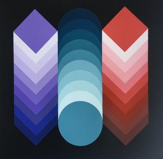 Victor Vasarely: Dimenziók 4.