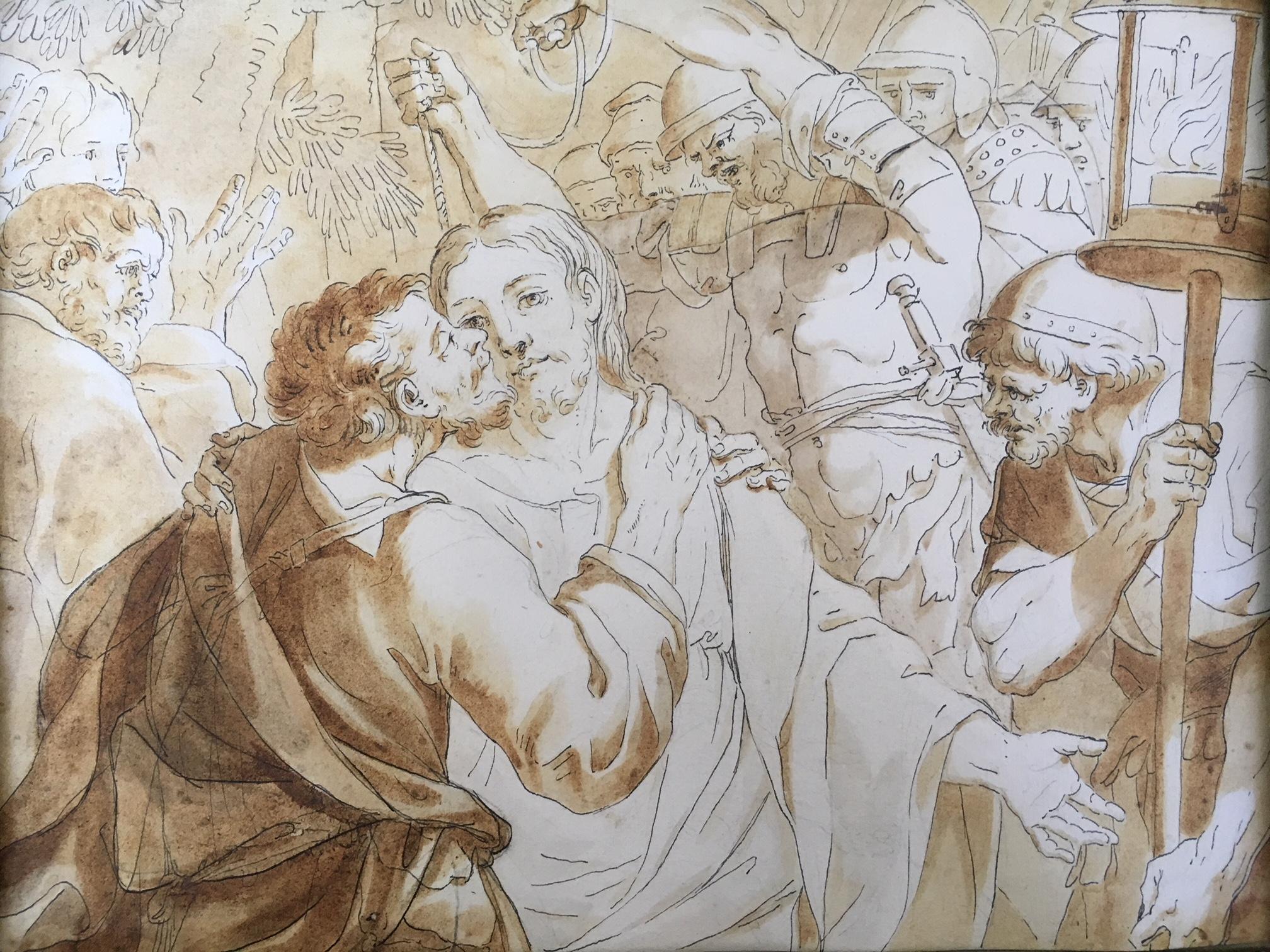 Französischer Meister: Judas Kuss